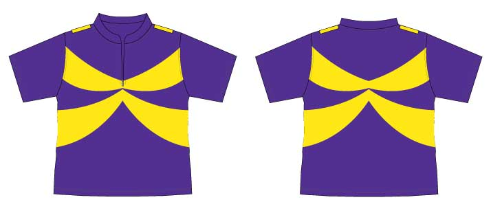 captain starlight uniform top